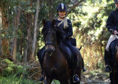 Ruta a caballo en marbella Horse trekking (2)